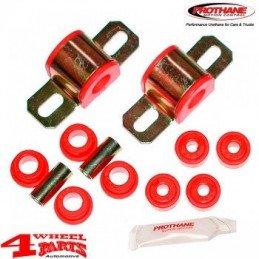 Kit silent-blocs barre stabilisatrice/antiroulis AV - 23mm - ROUGE - Polyuréthane renforcé - Jeep Cherokee XJ 84-01 // KJ05003RE