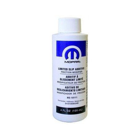 Additif huile de pont ORIGINE JEEP / MOPAR pour glissement limité et Quadra-Drive 120 ml MS-10111 // MOP-MS10111