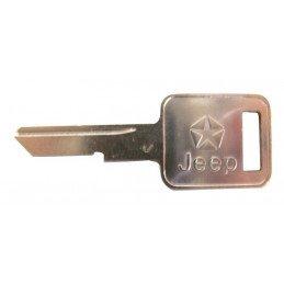 Clef de contact pour Neiman ou pour Portes - Jeep Wrangler YJ 1987-1990 / Cherokee XJ 1984-1990 / CJ 1976-1986 // 3641914