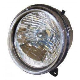 Optique de phare Avant Droit, sans veilleuse - Norme USA, Canada - Jeep Cherokee Liberty KJ 2005-2007 // 55157140AA