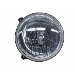 Optique de phare Avant GAUCHE - Europe norme CEE -  avec règlage électrique - Jeep Cherokee Liberty KJ 2002-2007 // 55155817AD