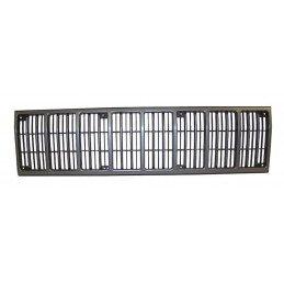 Calandre / grille de radiateur, Noire/Argent - Jeep Cherokee XJ 1988-1990 // 55013144