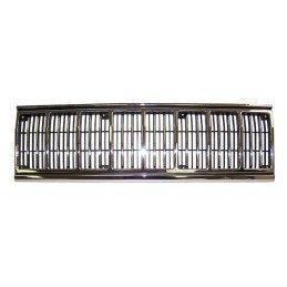 Calandre / grille de radiateur, noir & chrome - Jeep Cherokee XJ 1991-1996 // 55034046