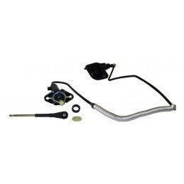 Kit Emetteur, Récepteur d'Embrayage + Flexible- Avec contacteur de sécurité - Jeep Wrangler TJ 2.4L, 4.0L 2003-04 // 52107652AH