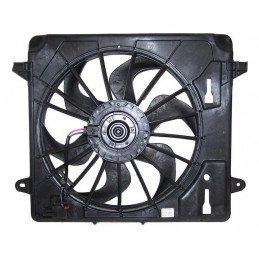 Bloc ventilateur électrique moteur - Jeep Wrangler JK 2.8L CRD, 3.8L Ess 2007-2018 // 55056642AD