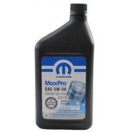 Agrandir l'image Huile Moteur Origine Jeep Mopar MaxPro 5W30 - Norme MS6395 - Toutes Jeep, Dodge, Chrysler, Fiat - 1L // 5W30