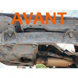 Body Lift 50mm (2 pouces) - Boite Auto et manuelle - Rehausse entre châssis et caisse - Jeep Wrangler YJ 1987-1995 // 932A