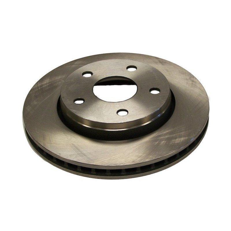 Disque de frein Avant ventilé Norme US (BRW) diam. 302 mm (11.89 pouces) - Pour Jeep Wrangler JK 2007-2018 // 52060137AB