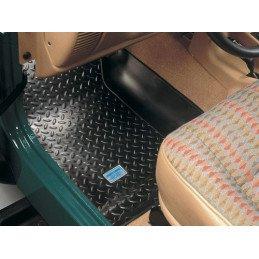 Tapis de sol caoutchouc Avant Gauche + Droite de Haute qualité - Jeep Wrangler TJ 1996-2006 // HU156620