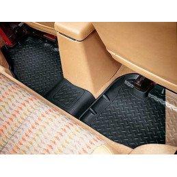 Tapis de sol caoutchouc Arrière Gauche + Droite de Haute qualité - Jeep Wrangler TJ 1996-2006 // HU156621