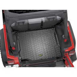 Tapis de sol caoutchouc COFFRE - Jeep Wrangler JK 2007-2018 - 2 ou 4 portes - Sans caisson de basses // 14255.0301