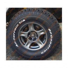 Jante alu RACER 7x16 Spécial TT - Jeep Grand-cherokee WJ,WG 1999-2004 / Wrangler JK 2006-2008 - offset 20 - 5x127mm // RAC23SI