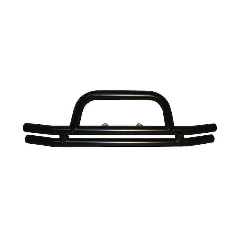 Pare-choc avant double tube Rampage noir texturé - Jeep Wrangler JK 2007-2018 // RT20018