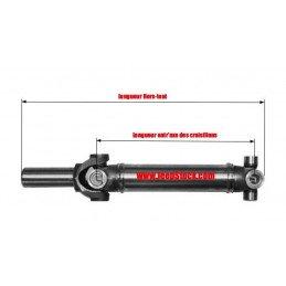 Arbre de Transmission Arrière - ÉCHANGE STANDARD - Jeep Wrangler YJ 2.5L 4 Cyl 1987-1990 Boîte Manuelle // 53004454STD