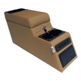 Boite à gants centrale Camel, entre sièges avant Jeep Wrangler YJ -CJ 1976-1995 // RT27010