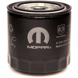 Filtre à huile - MOPAR - filetage en pouce - Jeep Wrangler TJ / Cherokee XJ / Grand Cherokee WJ, WK / Commander XK 1997-2007