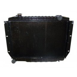 Radiateur refroidissement moteur 4.2L Jeep CJ 1981-1986, renforcé, 2 rangées de nid d'abeille // J5362492
