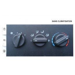 Bloc de commande Ventilation SANS CLIM Jeep Cherokee XJ 1997-2001 OCCASION // 55037428-5011343AA-SANS-CLIM-OCC