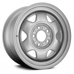 *Jante d'Origine Jeep OCCASION - acier 6 Branches - 7x15 - grise - 5x114.3mm Wrangler YJ TJ / Cherokee XJ KJ / Grand-cherokee