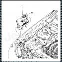 Bouchon de vase expansion Jeep Wrangler JK 07-10 / Cherokee KJ, KK 02-12 / Grand Cherokee WJ, WK 99-11 / Compass MK 07-17