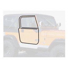 Joints porte avant Jeep Wrangler YJ 1987-1995, Kit complet de joints pour les 2 portes avant haute en acier // 55176222MK