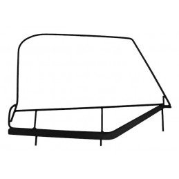 Haut de demi-porte Jeep Wrangler TJ 1997-2006, 2x Structures métalliques gauche + droit, sans toile // DF200TJ