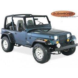 Extensions d'ailes Jeep Wrangler YJ 1987-1995, Bushwacker, Avant/Arrière gauche/droite  (4 pièces) // 10909.07