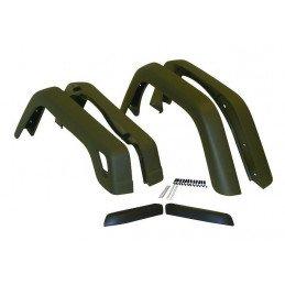 Extensions d'ailes Jeep Wrangler TJ 1997-2006, Avant/Arrière gauche/droite + Rallonge (6 pièces) // 55254918K6