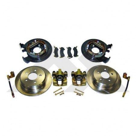 Kit de conversion freins arrières Jeep Wrangler TJ, tambours en disques