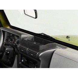 Rangement de tableau de bord Noir - Jeep Wrangler TJ 1997-2006 // RT27016