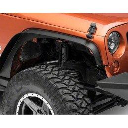 Extensions d'ailes Jeep Wrangler JK 2007-2018, Flat Fender Bushwacker, Avant/Arrière gauche/droite (4 pièces) // RT26085