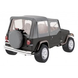 Bâche Jeep Wrangler YJ, Grise