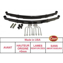 Silent-bloc de main de lames de suspension Jeep Wrangler YJ 87-95 / CJ, SJ 76-86 // J5355369