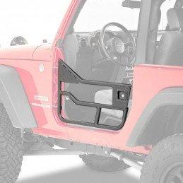 Demi-portes tubulaires Jeep Wrangler TJ 1997-2006, 2X Portes droite + Gauche, BESTOP High-Rock // 51825-01