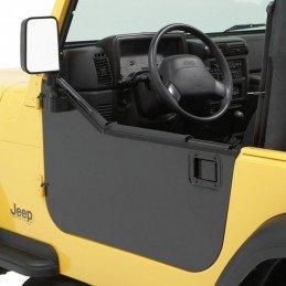 Demi-portes Jeep Wrangler 1976-2006 , panneaux tôle , BESTOP High-Rock®