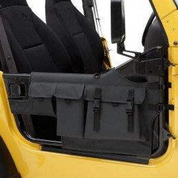 Demi-portes Jeep Wrangler YJ & TJ , Sacoches pour portes High-Rock ®