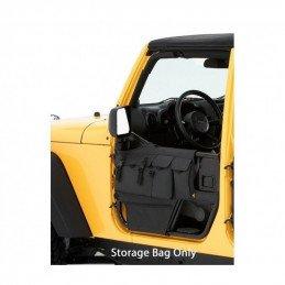 Sacs vides-poches pour demi-portes tubulaires AVANT Jeep Wrangler JK 07-17 BESTOP High-Rock // 51813-35