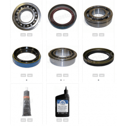 *Kit rénovation boite de transfert NP247 Jeep Grand Cherokee WJ 2.7L CRD 2002-2004 - Ensemble joints Spi + Roulement