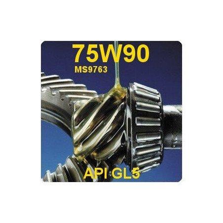 Huile Norme MS-9763 Boîte de vitesses manuelle AX5, AX15 & BA 10/5 - Jeep XJ, YJ & TJ - Bidon 2 L - 75W90