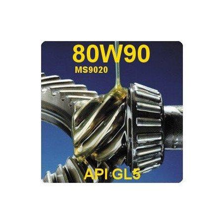 Huile 80W90-API-GL5 pont avant Jeep MS-9020 / en 2 litres
