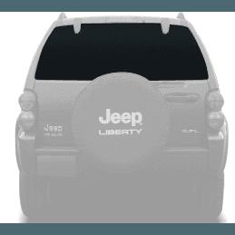 Lunette arrière / lunette de hayon Jeep Cherokee KJ 2002-2007 - FONCÉ - OCCASION -- 55360342-OCC