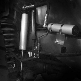 Amortisseurs avant Jeep Wrangler JK rehaussé , réglable , avec réservoir séparé Rubicon express