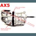 Huile 75W90-API-GL5 / Boîte de vitesses manuelle AX5, AX15 & BA 10/5 / Jeep XJ, YJ & TJ / 2 Litres / 75W90synth-2L