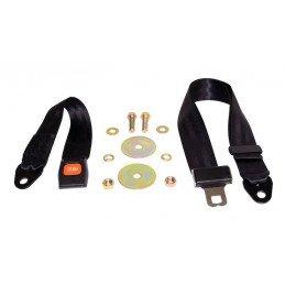 Kit ceinture de sécurité arrière droite ou gauche, 2 points pour Jeep Wrangler CJ - YJ 1976-1995 // BELT1B