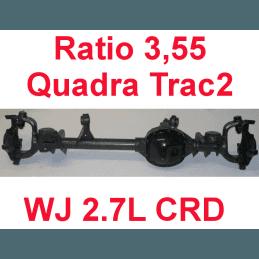 * Pont avant ÉCHANGE-STANDARD Jeep Grand-Cherokee WJ 2,7L CRD 2000-2004 Dana super 30 r:3.55 Quadra-Trac2