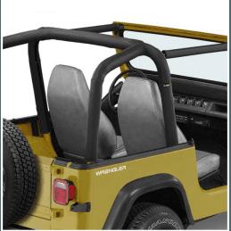 Housse Arceaux Jeep Wrangler YJ 1992-1995 - Housse matelassée pour arceaux de sécurité Bestop Noir -- BST80009