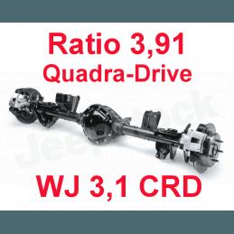 * Pont arrière ÉCHANGE STANDARD Jeep Grand-Cherokee WJ 3,.1L CRD 2000-2001 Dana 44 r:3.91 Quadra-drive + huile et additif