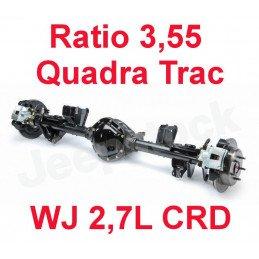 * Pont arrière ÉCHANGE STANDARD Jeep Grand-Cherokee WJ 2,7L CRD 2002-04 Dana 44 r:3.55 Quadra Trac + huile + additif