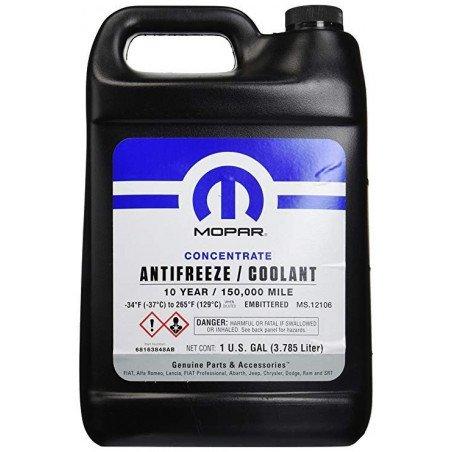 Antigel concentré - Couleur VIOLET Norme MOPAR MS-12106 - 10 ans/240000km - 3,785L // 68163848AB