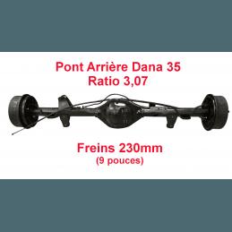 Pont arrière OCCASION Jeep Wrangler YJ 1990-1995 Dana 35C ratio 3.07 - 230mm